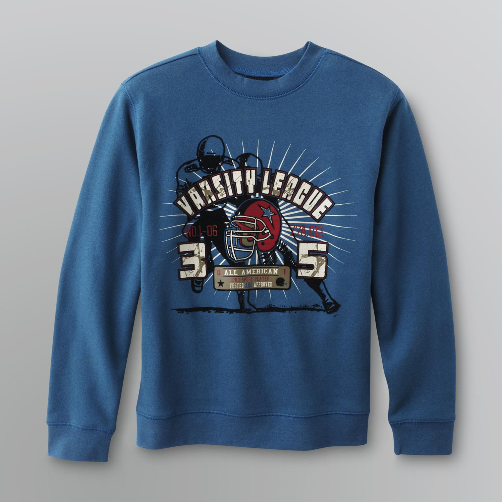 Boy's Football Graphic Sweatshirt