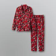 Joe Boxer Women's Flannel Pajama Set - Dogs