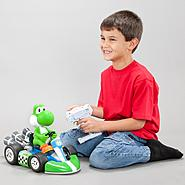 Super Mario Brothers 1/8 Scale Super Yoshi Racer Radio Control Kart at Kmart.com