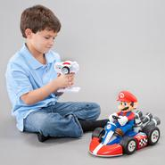 Super Mario Brothers 1/8 Scale Super Mario Racer Radio Control Kart at Kmart.com