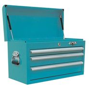 "Viper Tool Storage 26"" 3 Drawer 18G Steel Top Chest, Teal at Sears.com"
