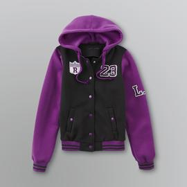 New Look Junior's Varsity Hooded Jacket at Sears.com