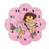 Trend-Lab Wall Clock - Nickelodeon Dora The Explorer™   Exploring The Wild at mygofer.com