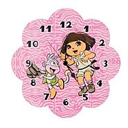 Trend-Lab Wall Clock - Nickelodeon Dora The Explorer™   Exploring The Wild at Kmart.com