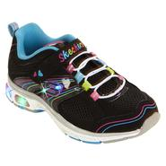 Skechers Youth Girl's S Lights Up Light Ray - Black/Multi at Sears.com