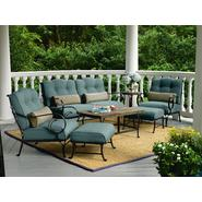 La-Z-Boy Outdoor Ashville 4pc Seating Set Bundle      ...