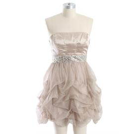 Speechless Junior's Strapless Jeweled Waist Tulle Social Dress at Sears.com