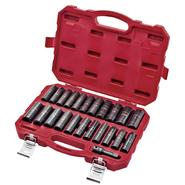 "Craftsman 23 Pc Laser Impact Deep Socket Accessory Set, 1/2"" Drive – Inch/Metric at Sears.com"
