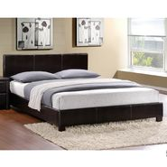 Oxford Creek Dark Brown King-size Platform Bed at Kmart.com