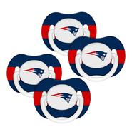 Baby Fanatic New England Patriots NFL 4-pack Baby Pacifiers at Kmart.com