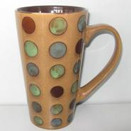 Home Essentials Taupe Dot Coffee Mug at Kmart.com