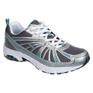 LA Gear Women's Athletic Shoe Quest  - Silver/Blue at Sears.com