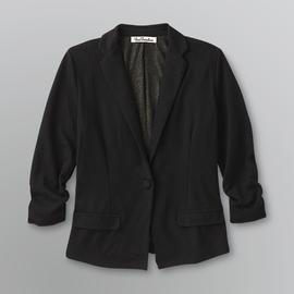 True Freedom Junior's Ruched Blazer Jacket at Sears.com