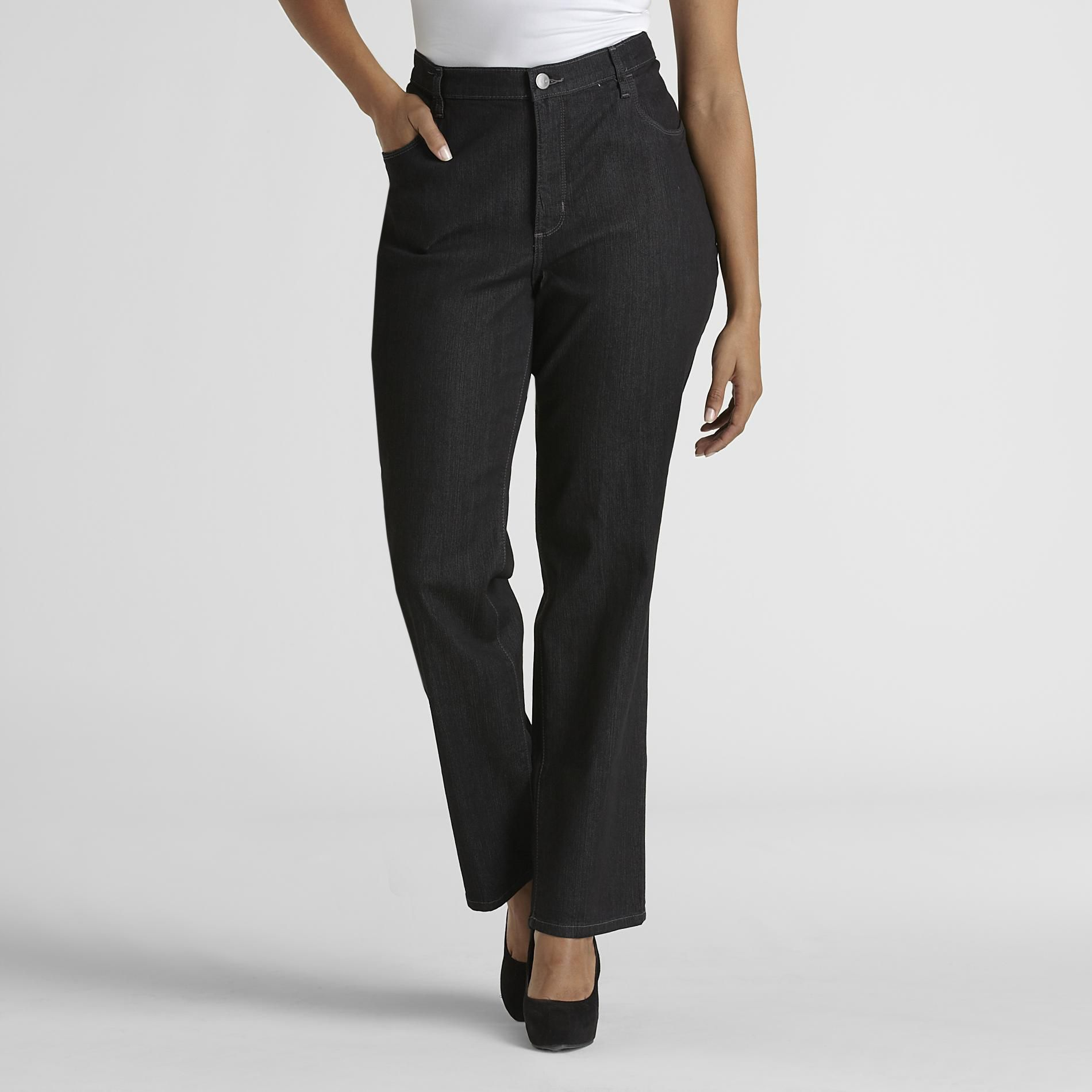 LEE Women's Plus Classic Fit Bootcut Jeans at Sears.com