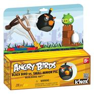 K'Nex Black Bird vs. Pig Angry Birds Building Set at Sears.com