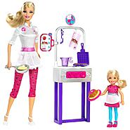 Barbie I CAN BE™ PANCAKE CHEF PLAYSET DOLL at Kmart.com