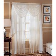 Whole Home Crinkle Voile Window Panel at Kmart.com