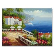 "Trademark Fine Art 24x32 inches ""Mediterranean View"" at Kmart.com"