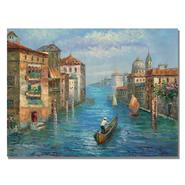 "Trademark Fine Art 26x32 inches Rio ""Solitary Gondolier"" at Kmart.com"