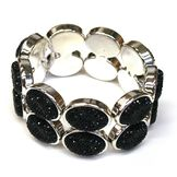 Sofia by Sofia Vergara Bracelet Shiny Stretch Black at mygofer.com
