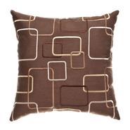 Softline Home Fashions, Inc Strada Square Chocolate 18x18 Decorative Pillow at Kmart.com