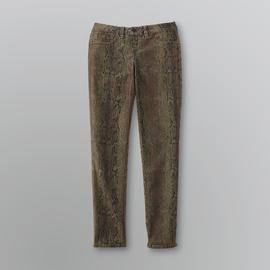 Bongo Junior's Reversible Snake Print/Solid Jeggings at Sears.com