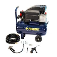 Prime Fit CMK1004 Portable 6-Gallon Air Compressor with 5-Piece Air Accessory Kit, Blue Finish at Sears.com