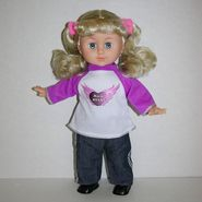 "Just Kidz 13"" Little Rock Star Singing Doll - Pink at Kmart.com"