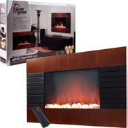Warm House Mahogany Trim Fireplace 1500 Watt Heater at Kmart.com