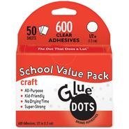 "Glue Dots 1/2"" Craft Dots School Value Pack 600/Pkg- at Kmart.com"