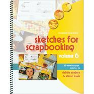 Scrapbook Generation-Sketches For Scrapbooking Volume 6 at Kmart.com