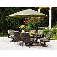 La-Z-Boy Outdoor Peyton 7pc Dining Set Bundle at Kmart.com