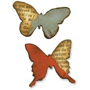 Sizzix Movers & Shapers Magnetic Dies By Tim Holtz 2/Pkg-Butterflies at Kmart.com