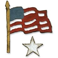 Sizzix Movers & Shapers Magnetic Dies By Tim Holtz 2/Pkg-Mini Old Glory at Kmart.com