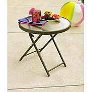 "Garden Oasis Grandview 20"" Round Side Table at Kmart.com"