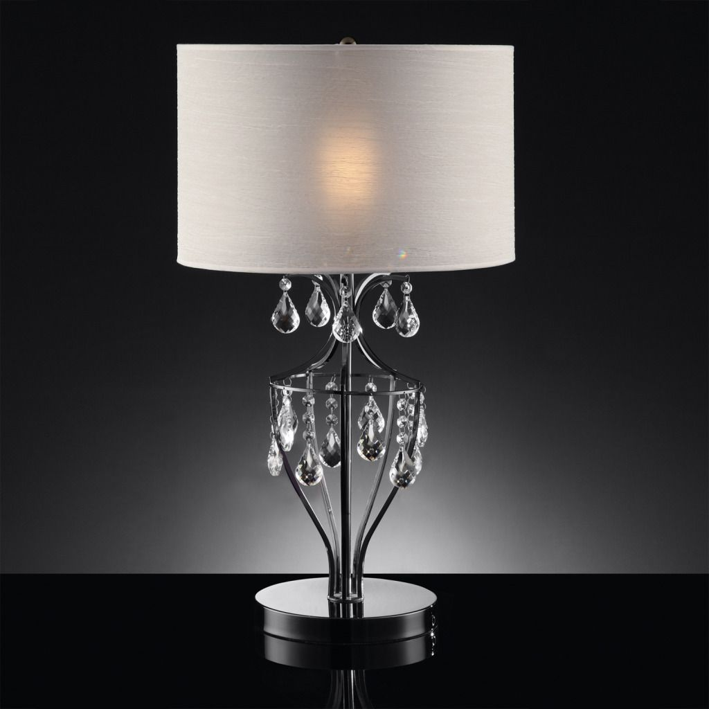 Crystal Pendant Table Lamp