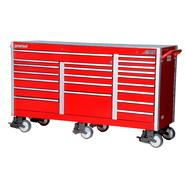"International SHD 73"" 21-Drawer Ball Bearing Slides Roller Cabinet Red at Sears.com"