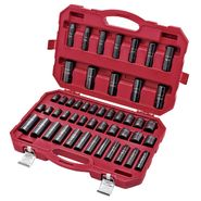 Craftsman 48pc Master Laser Impact Socket Accessory Set with Portable Case, 1/2 Drive, Inch/Metric at Sears.com