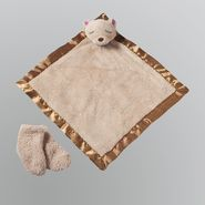WonderKids Boy's Infant Socks 2pc Bear Blanket and Booties at Kmart.com