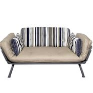 American Furniture Alliance Mali Flex Futon Combo Newport Navy Stripe at Kmart.com