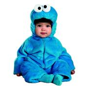Sesame Street Cookie Monster Deluxe Two-Sided Plush Jumpsuit Toddler Halloween Costume at Kmart.com