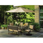 La-Z-Boy Outdoor Kendall 6pc Dining Set Bundle at Kmart.com