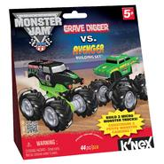 K'Nex GRAVE DIGGER / AVENGER MICRO BUILDING SET at Sears.com