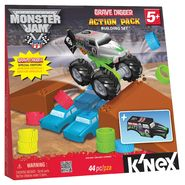 K'Nex GRAVE DIGGER ACTION PACK BUILDING SET at Sears.com