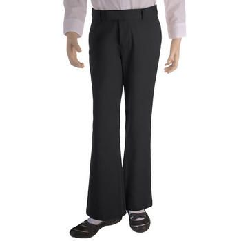 (Girls Plus) Adjustable Waist Flat-Front Pant