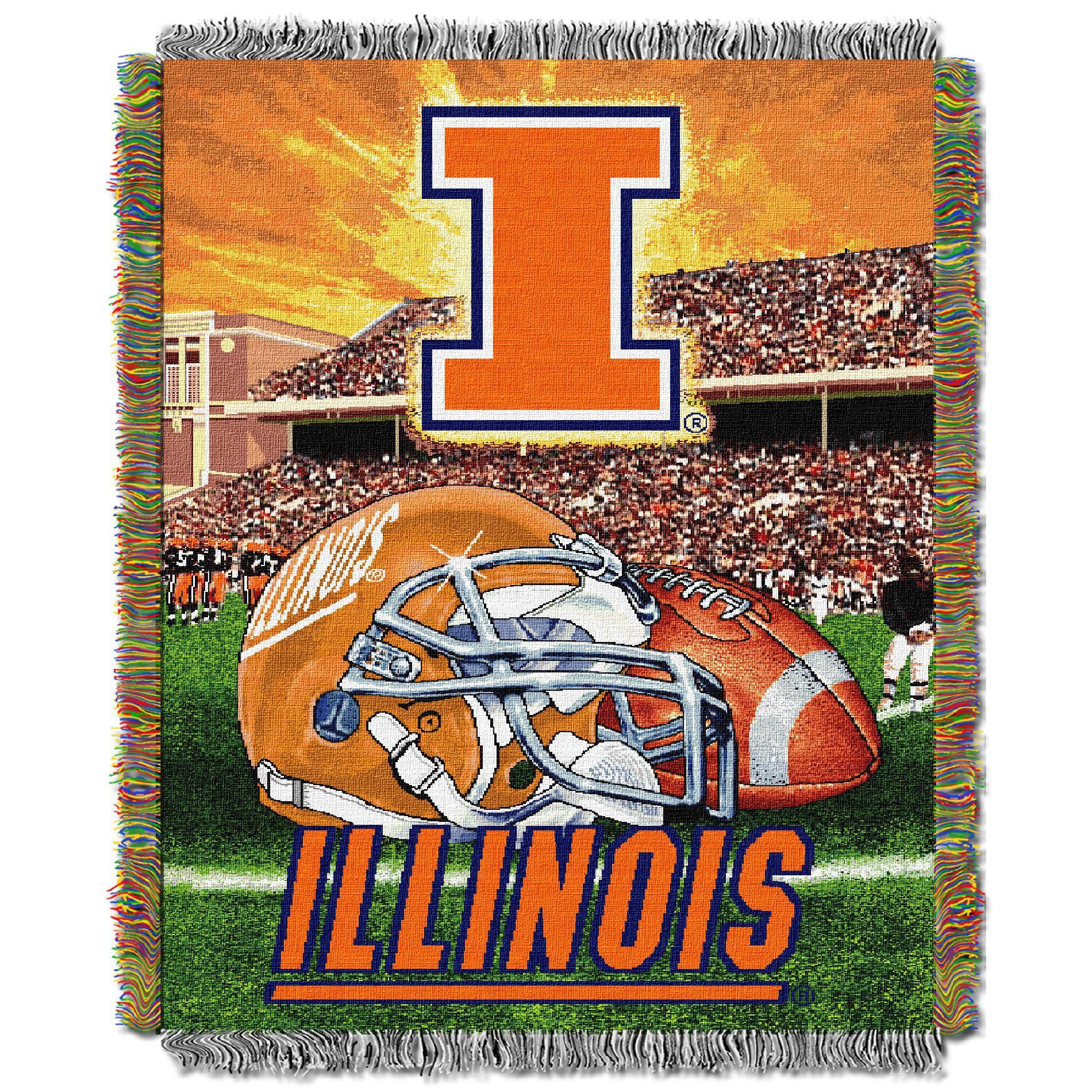 Northwest Company NCAA 051 HFA Illinois Tapestry