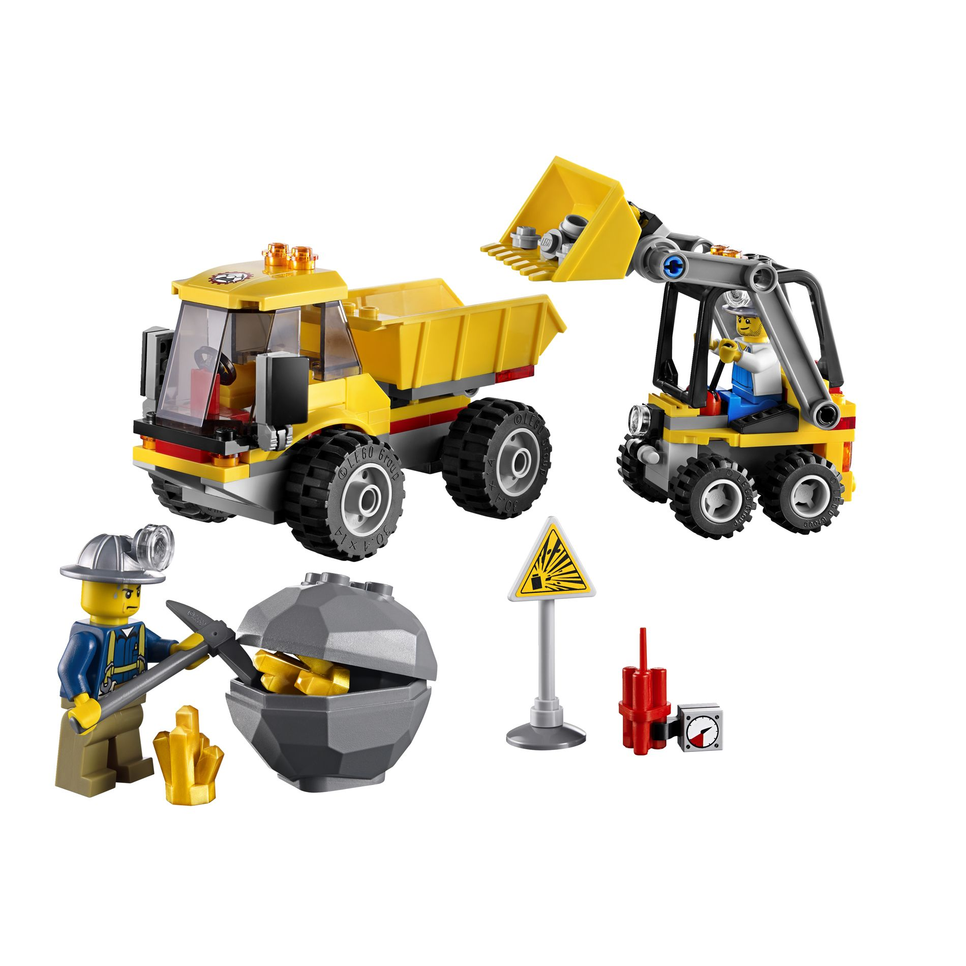 LEGO  Mining Loader and Tipper