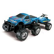 Just Kidz Remote Control Ford F-150 With Jet Ski 1:22 Scale at Kmart.com