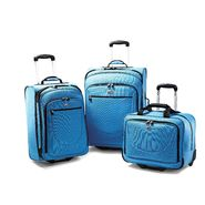 American Tourister Splash Upright Luggage Set (Turquoise) at Sears.com