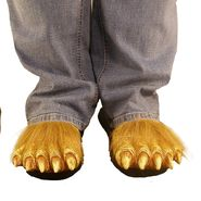 Totally Ghoul Werewolf Feet Sandals for Halloween Costumes - Medium at Kmart.com